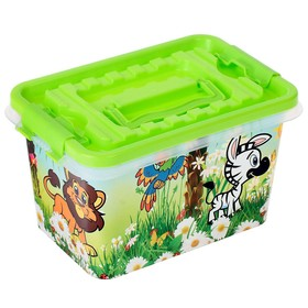 Miracle Island container, rectangular, 4 L