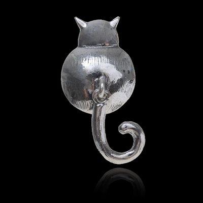 "Значок ""Котя Мотя"", цвет чернёное серебро"