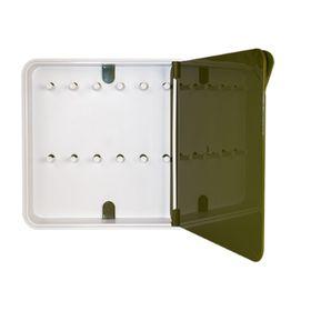 Ящик для ключей Byline, цвет дверцы зеленый