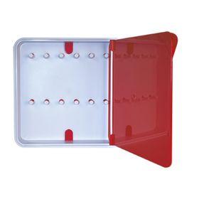 Ящик для ключей Byline, цвет дверцы красный