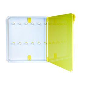 Ящик для ключей Byline, цвет дверцы желтый