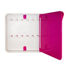 Ящик для ключей Byline, цвет дверцы розовый