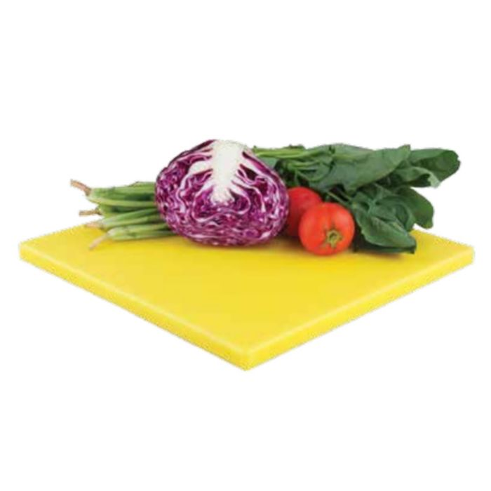 Разделочная доска 35Х35Х1,9 см желтая