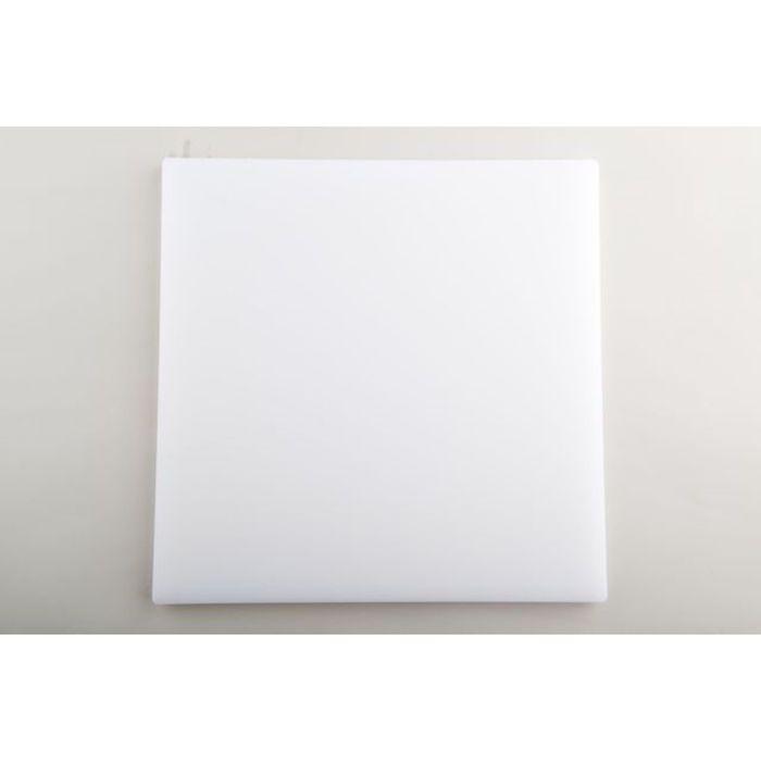Разделочная доска 35Х35Х1,9 см белая