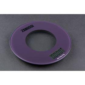 Весы кухонные Bologna, электронные, до 5 кг, фиолетовые