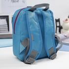 Рюкзак детский, 1 отдел, цвет розовый/голубой