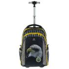 Рюкзак на колесах с эргономичной спинкой Belmil Easy Go 47 х 33 х 20 см, Lumi Eagle