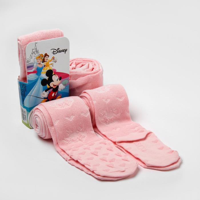 """Колготки Дисней """"Мари"""", розовый, 104-110 см - фото 76184943"""