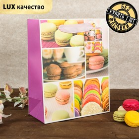"""The package laminated """"Macaroon"""", Suite, 18 x 9 x 23 cm"""