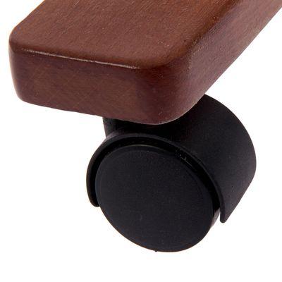Вешалка гардеробная на колёсиках 179×90×42 см R.Atlant, тёмный бук