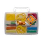 Набор для лепки JOVI: пластилин 8 цветов, 12 формочек, 3 стека, скалка
