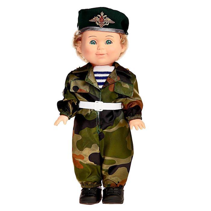Кукла «Митя Пограничник» со звуковым устройством, 34 см