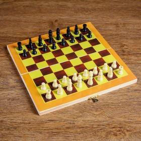 Шахматы настольные, поле 24 × 24 см Ош