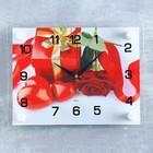 """Часы настенные, серия: Цветы, """"Подарок"""", 20х26 см"""