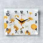 """Часы настенные, серия: Цветы, """"Ромашки"""", 20х26 см  микс"""