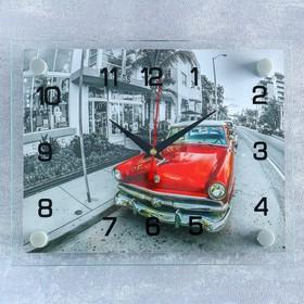 """Часы настенные, серия: Транспорт, """"Ретро автомобиль"""", 20х26 см  микс в Донецке"""