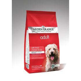 Сухой корм Arden Grange для взрослых собак, курица/рис, 12 кг.