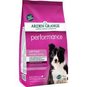 Сухой корм Arden Grange для взрослых активных собак, 12 кг.