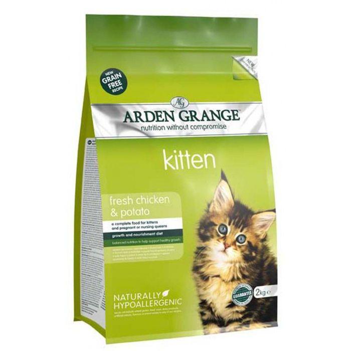Сухой корм Arden Grange для котят, беззерновой, 400 г