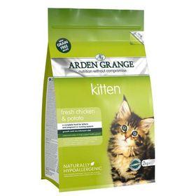 Сухой корм Arden Grange для котят, беззерновой, курица/картофель, 2 кг