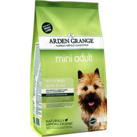 Сухой корм Arden Grange для взрослых собак мелких пород, ягненок/рис, 6 кг.