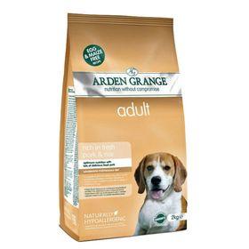 Сухой корм Arden Grange для взрослых собак, свинина/рис, 2 кг.