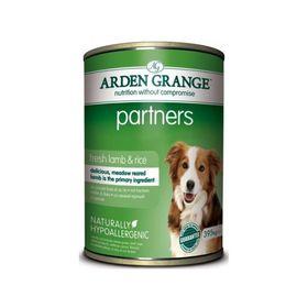 Влажный корм Arden Grange для собак, с ягненком и рисом, 0,395 кг