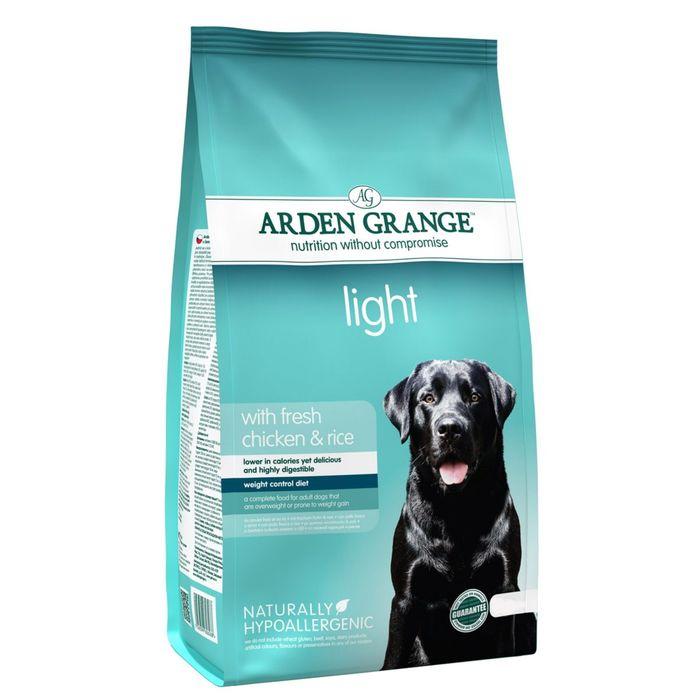 Сухой корм Arden Grange для взрослых собак, диетический, 2 кг