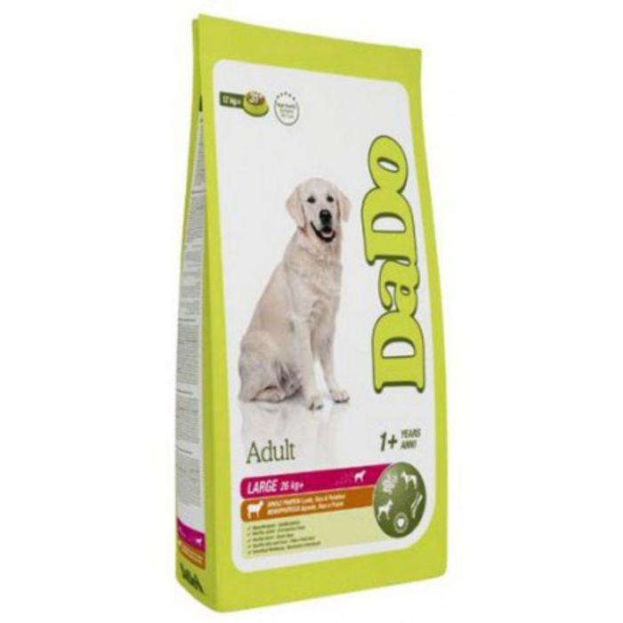 Сухой корм DaDo для собак крупных пород, рыба/рис, 12 кг.