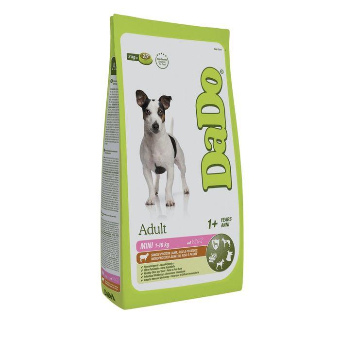 Сухой корм DaDo для собак мелких пород, с ягненком, рисом и картофелем, 700 г