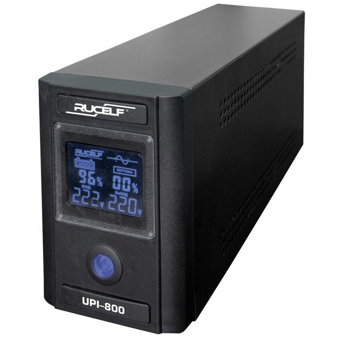 Источник бесперебойного питания RUCELF UPI- 800-12-EL, 800 ВА, 640 Вт, line-interactive