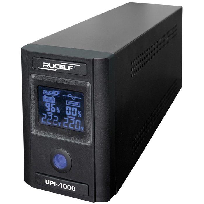 Источник бесперебойного питания RUCELF UPI-1000-24-EL, 1000 ВА, 800 Вт, line-interactive