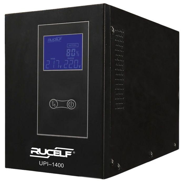 Источник бесперебойного питания RUCELF UPI-1400-24-EL, 1400 ВА, 1120 Вт, line-interactive
