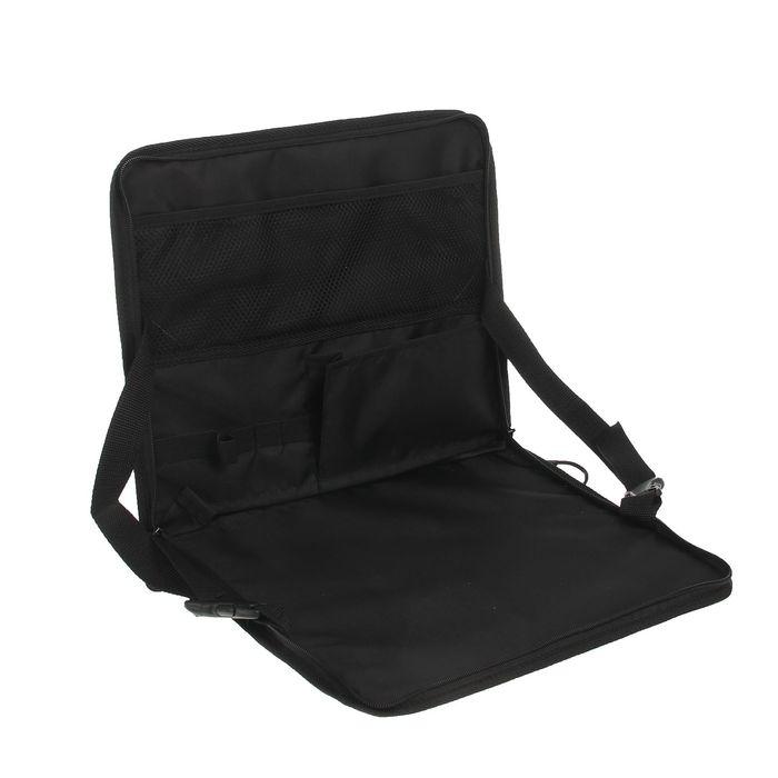 Столик мобильный 35х30 см, черный