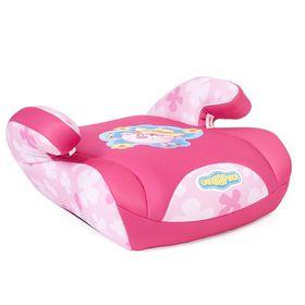 """Детское кресло-бустер """"Смешарики"""", группы 2/3 (15-36 кг/3-12 лет), полиэстер, поролон 3 см, цвет розовый, SM/DK-500 Nyusha"""