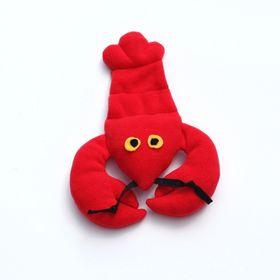 Игрушка для собак OSSO «Рак» с неубиваемой пищалкой, 25 см
