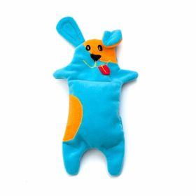 Игрушка для собак OSSO «Песик» с неубиваемой пищалкой, 25 см, микс