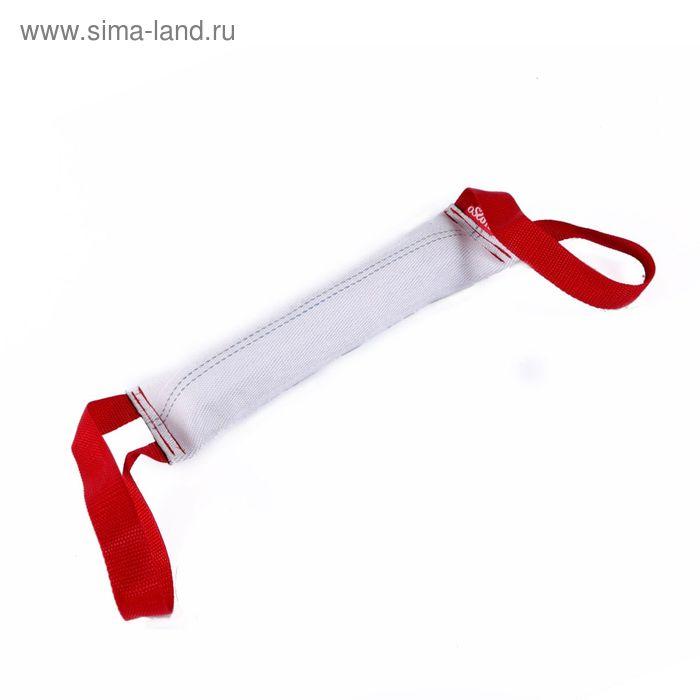 Игрушка-кусалка для собак из пожарного шланга OSSO с двумя ручками, 40 см