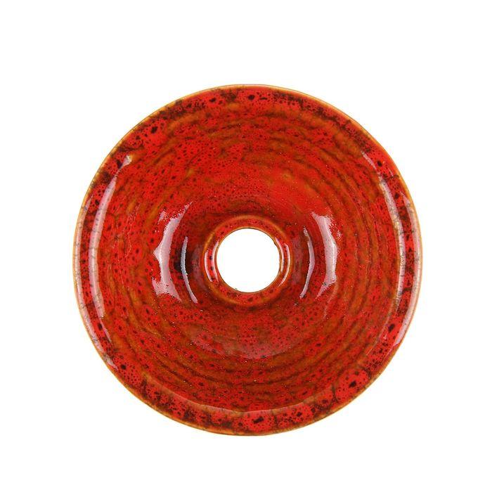 Чаша для кальяна керамическая «Фанел. Кубок», 8 × 8.5 см, микс
