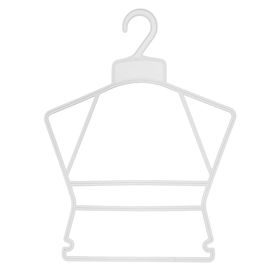 Вешалка контурная 28.5*36, цвет прозрачный Ош