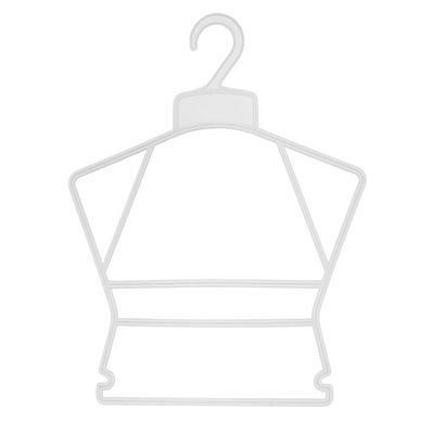 Вешалка контурная 28.5*36, цвет прозрачный
