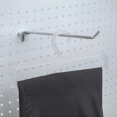 Вешалка для брюк L=25, (фасовка 10 шт), цвет прозрачный
