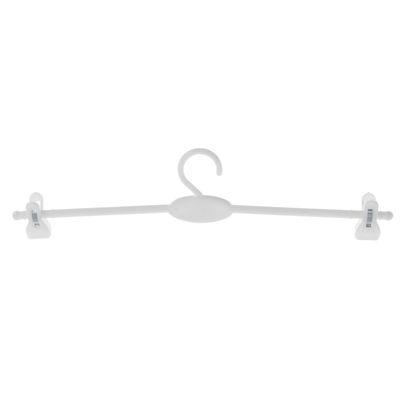 Вешалка для брюк и юбок L=28, (фасовка 10 шт), цвет белый