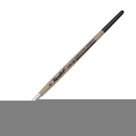 Artistic brush Roubloff 1T64, synthetics, imitation of a mongoose, inclined, No. 6, short handle