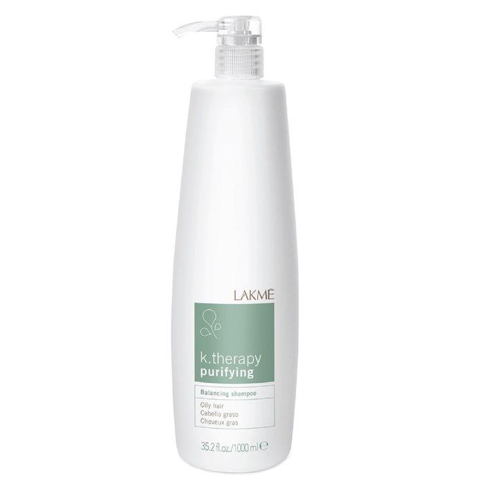LAKME K.Therapy Purifying Шампунь восстанавливающий баланс для жирных волос, 1 л