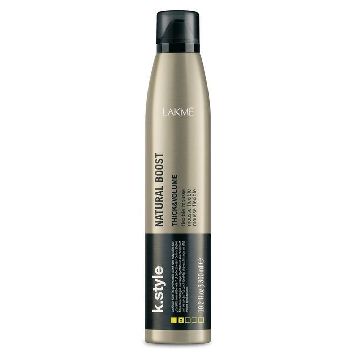 LAKME K.Style NATURAL BOOST - Мусс для прикорневого объема, 300 мл