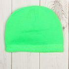 Шапка для мальчика, размер 52, цвет зелёный H-0207