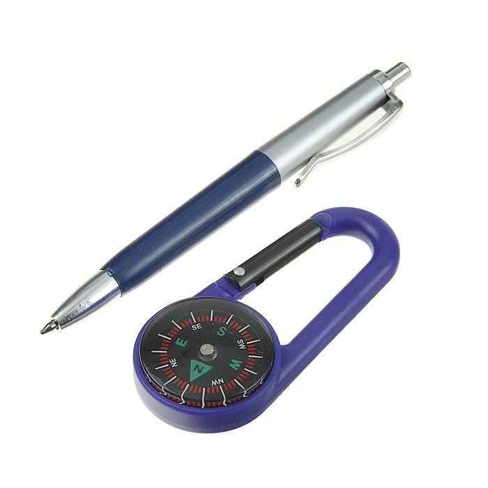 Набор подарочный 2 в 1 (ручка + компас), в блистере