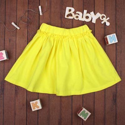 Юбка для девочки, рост 92 см, цвет жёлтый