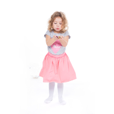 Юбка для девочки, рост 98 см, цвет розовый